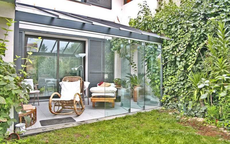 Veranda in giardino